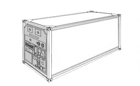 Refridgerated-container